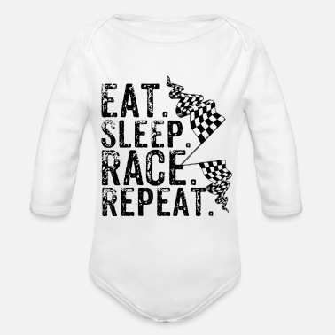 Motorsport Motorsport - Organic Long-Sleeved Baby Bodysuit