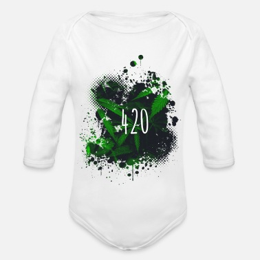 420 420 - Organic Long-Sleeved Baby Bodysuit