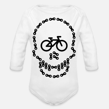Biking Biking Bike - Organic Long-Sleeved Baby Bodysuit