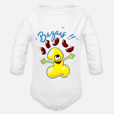 Collections Bazais collection - Organic Longsleeve Baby Bodysuit