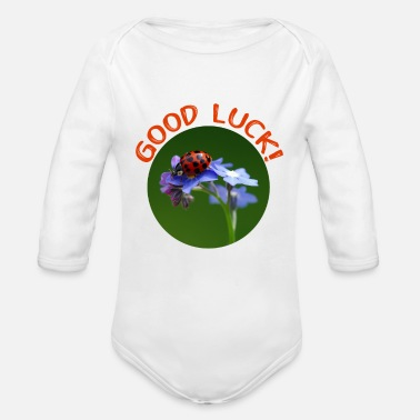 Luck Good luck - Good luck - Organic Long-Sleeved Baby Bodysuit