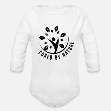 Healing Healed by nature - Organic Longsleeve Baby Bodysuit