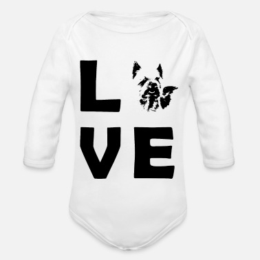 Picture LOVE Yorkshire Picture - Body bébé bio manches longues