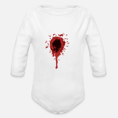 Wound wound - Organic Long-Sleeved Baby Bodysuit