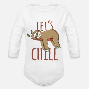 Faultier Faultier let´s Chill - Baby Bio Langarmbody