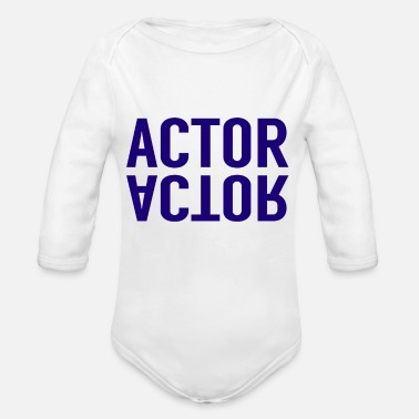 Actor Actor - Organic Long-Sleeved Baby Bodysuit