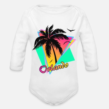 1990 Orlando - Organic Long-Sleeved Baby Bodysuit