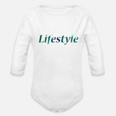 Lifestyle Lifestyle - Organic Long-Sleeved Baby Bodysuit