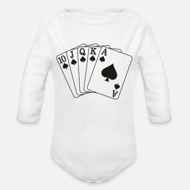 Royal Flush Royal Flush - Baby Bio Langarmbody
