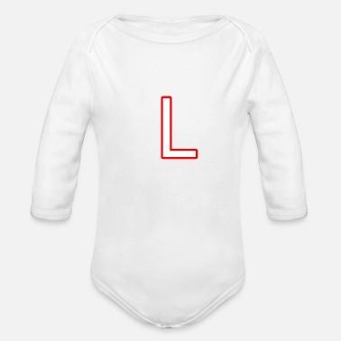 L L - Organic Long-Sleeved Baby Bodysuit