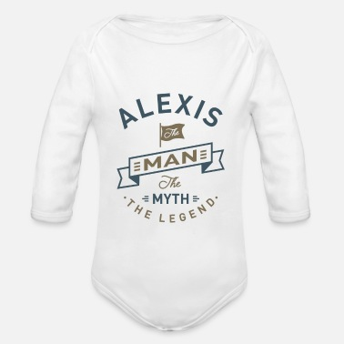 Alexis Alexis - Organic Long-Sleeved Baby Bodysuit