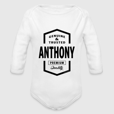 ANTHONY - Baby Bio-Langarm-Body