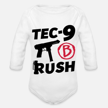 Rush B - RUSH! - Organic Long-Sleeved Baby Bodysuit