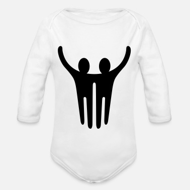 Together Together - Organic Long-Sleeved Baby Bodysuit