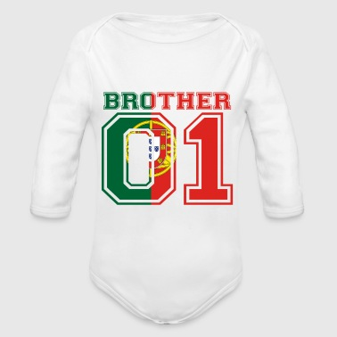 bruder brother 01 king Portugal - Baby Bio-Langarm-Body