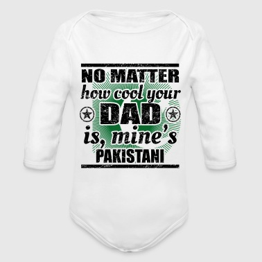no matter dad cool father gift Pakistan png - Organic Longsleeve Baby Bodysuit