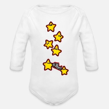 Constellation constellation - Organic Long-Sleeved Baby Bodysuit