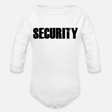 Security - Organic Long-Sleeved Baby Bodysuit
