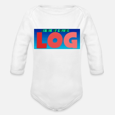 League Game League of gaming - Organic Long-Sleeved Baby Bodysuit