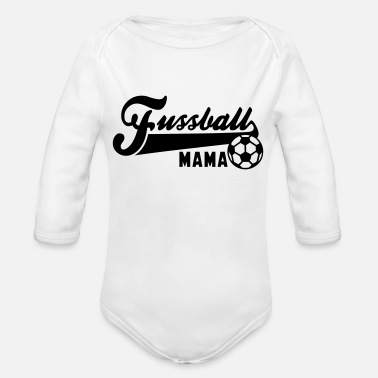 Fussball Fussball MAMA - Organic Long-Sleeved Baby Bodysuit