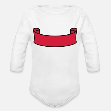 Banner Banner - Organic Long-Sleeved Baby Bodysuit