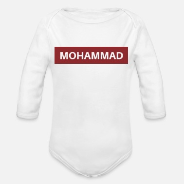 Mohamed Mohammed - Body bébé bio manches longues