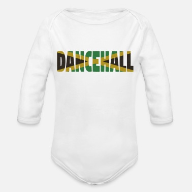 Dancehall Jamaica Dancehall - Organic Long-Sleeved Baby Bodysuit
