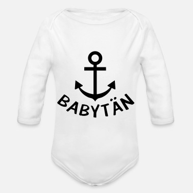 babytän baby captain - Organic Long-Sleeved Baby Bodysuit