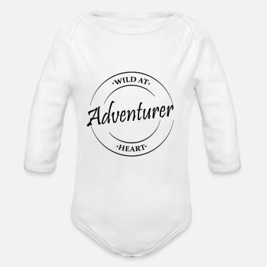 Adventurer - Organic Long-Sleeved Baby Bodysuit