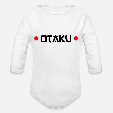 Otaku Otaku - Organic Long-Sleeved Baby Bodysuit