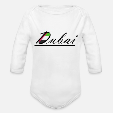 Arabia Dubai Arabia - Organic Long-Sleeved Baby Bodysuit