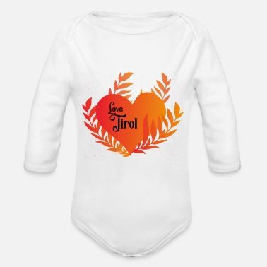 Love Tyrol - Organic Long-Sleeved Baby Bodysuit