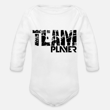 teamplayer - Organic Long-Sleeved Baby Bodysuit