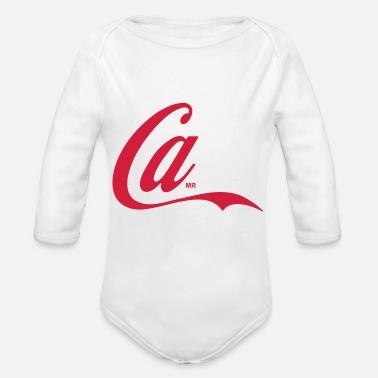 Cola Simplify Cola - Organic Long-Sleeved Baby Bodysuit