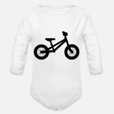 Wheel Wheel - Organic Long-Sleeved Baby Bodysuit