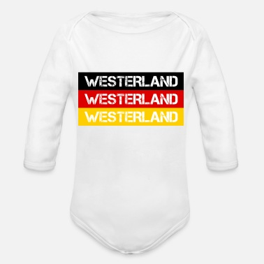 Westerland CITY WESTERLAND, GERMANY - Organic Long-Sleeved Baby Bodysuit