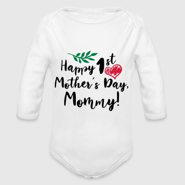 Baby Gifts For All Mothers Day Gift Happy 1st Moth - Baby Bio-Langarm-Body