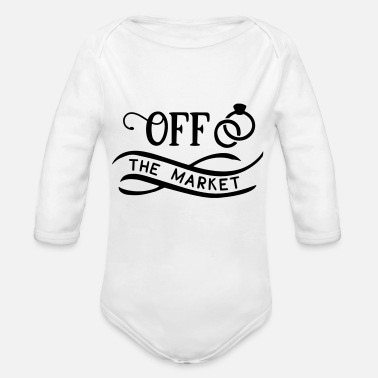 Wedding Party Hen Party JGA Wedding Gift - Organic Long-Sleeved Baby Bodysuit