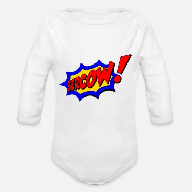 Bercow! - Organic Long-Sleeved Baby Bodysuit