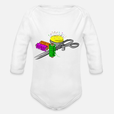 Cutter cutters - Organic Long-Sleeved Baby Bodysuit