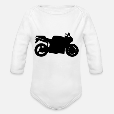 996 Ducati 916 996 - Organic Long-Sleeved Baby Bodysuit