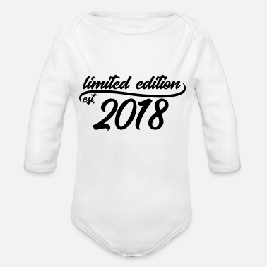 2018 Limited Edition est 2018 - Baby Bio-Langarm-Body