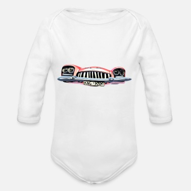 Cadillac Cadillac King of Rock n Roll - Body bébé bio manches longues