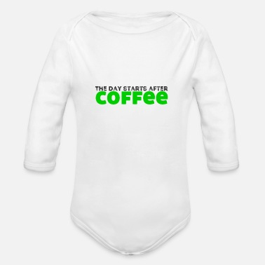 Cupido Do not talk to me, I need cookies - Organic Longsleeve Baby Bodysuit
