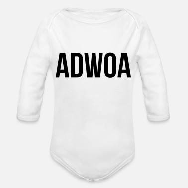 Adwoa Adwoa - Organic Long-Sleeved Baby Bodysuit