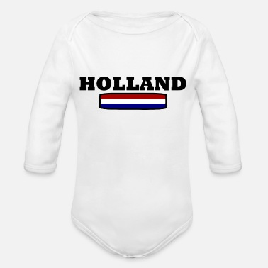 Holland HOLLAND - Organic Long-Sleeved Baby Bodysuit