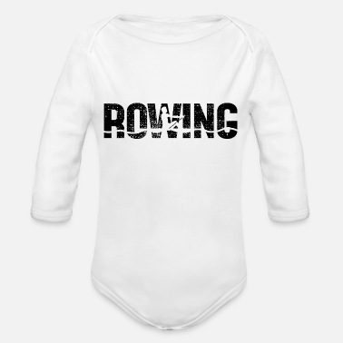 Water Sports Rowing sport water sports - Organic Longsleeve Baby Bodysuit