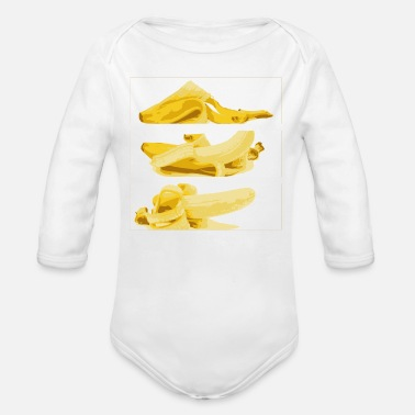Striptease fashion bananas striptease 2reborn - Organic Longsleeve Baby Bodysuit