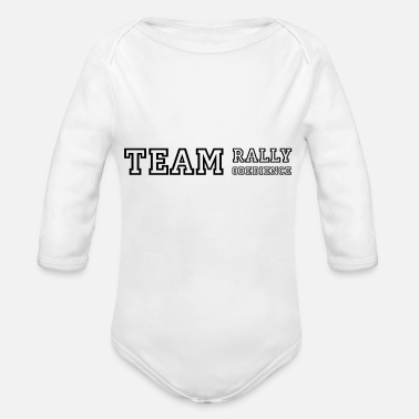 Rally Obedience Team Rally Obedience - dog sport jersey - Organic Long-Sleeved Baby Bodysuit
