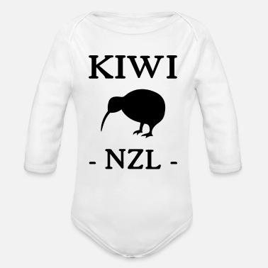 Kiwi - Nueva Zelanda - Nueva Zelanda - NZL - Auckland - Body de manga larga 2b7a91d3f267